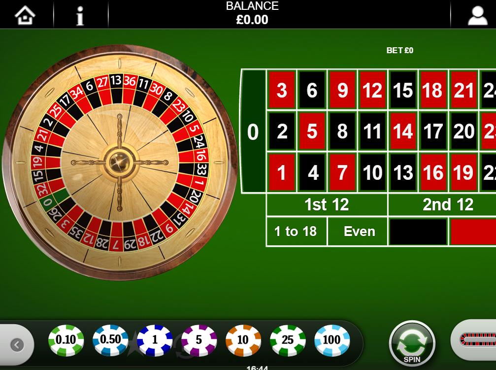 Best Online Roulette Real Money European Gold
